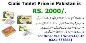 cialis tablet price in pakistan